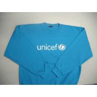 Sweatshirt,UNICEF,blue,poly/cotton,L